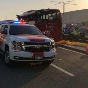 12 Indians among 17 killed in bus accident in Dubai