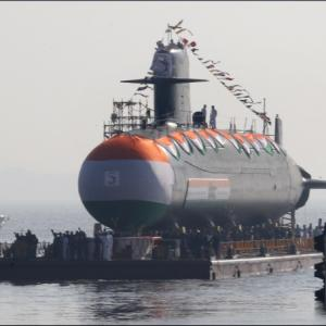 Navy finds defects in Scorpene submarine