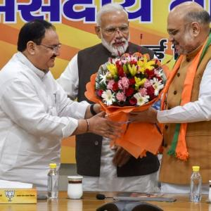 J P Nadda appointed as working president of BJP
