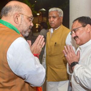 The meteoric rise of J P Nadda