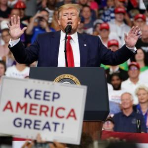 Trump launches 2020 re-election bid at Florida rally
