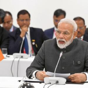 Terrorism biggest threat to humanity: PM at BRICS meet