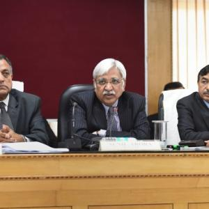 EC rejects Lavasa's demand to record dissent by 2-1