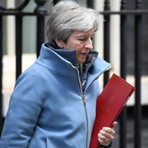 May admits no support for 3rd vote on Brexit bill