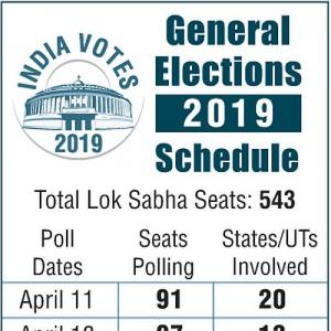 In Graphics: Lok Sabha polls 2019