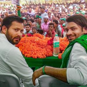 For sister Misa, Lalu's squabbling sons come together