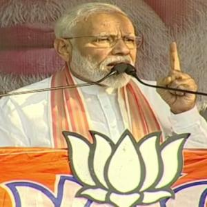 Shah was attacked as Didi wanted revenge: PM in Bengal