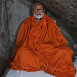 PM treks to Kedarnath, meditates inside cave