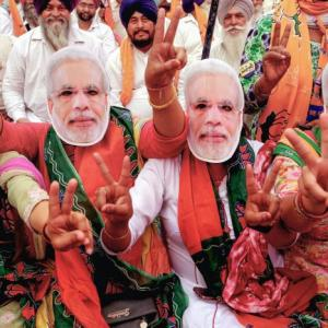 Exit polls: BJP says vote for PM, Oppn calls it gossip