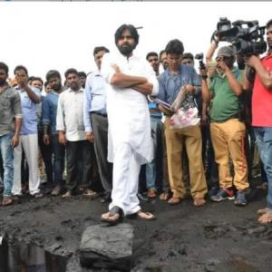Actor Pawan Kalyan makes a disastrous political debut
