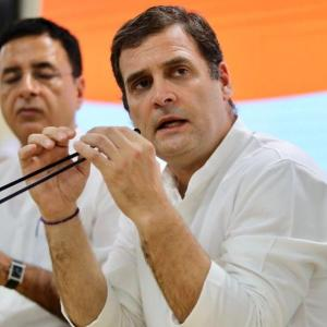 Take '100% responsibility' for defeat, says Rahul