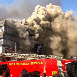 Surat: 19 students die in fire at commercial complex