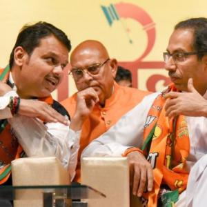 Bickering allies, power-sharing fights not new in Maha