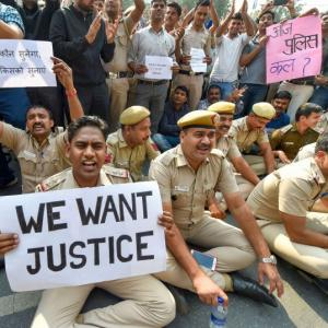 SC lawyer serves notice on Delhi top cop for protest