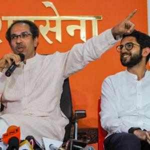 Shiv Sena has history of flirting with rivals