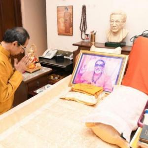 'Balasaheb would be happy to see Uddhav become CM'