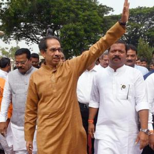 Thackeray sails through floor test; BJP MLAs skip vote