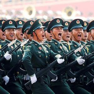 PHOTOS: China's 70th-year parade shows military might