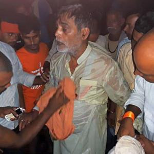 BJP MP, on flood survey, falls into river in Patna