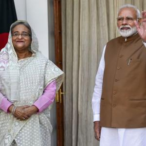 At talks with Modi, Hasina raises issue of NRC