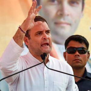 At Haryana rally, Rahul calls Modi loudspeaker of rich