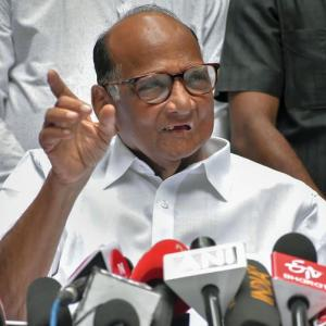 'Calling Pawar anti-national a negative vote for BJP'