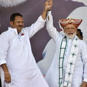 Has the Modi wave favoured Congress-NCP turncoats?