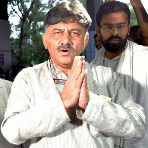 'Vendetta politics': Congress on Shivakumar's arrest