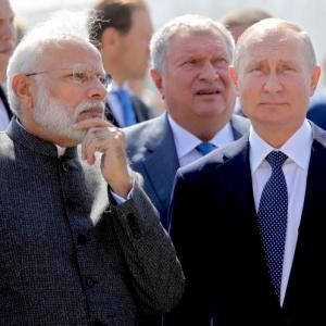 India, Russia against 'outside influence': Modi