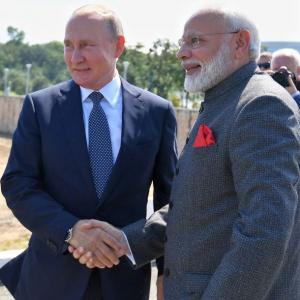 PHOTOS: Modi's visit to Russian Far-East