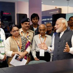 ISRO will realise national dream: PM on Chandrayaan-2