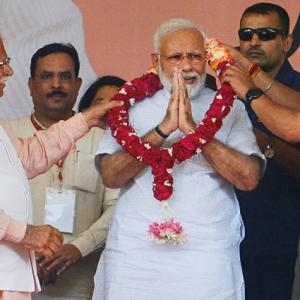 Big changes happened in country in 100 days: Modi