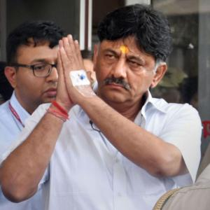D K Shivakumar: Too useful to too many people