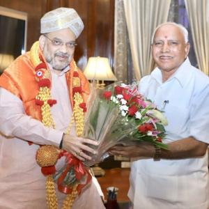 All languages equal, says BSY after Shah's Hindi pitch