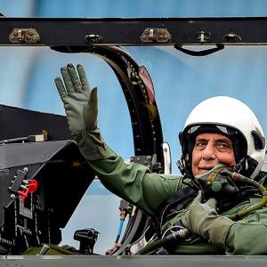 Rajnath to fly Rafale sortie on October 8 in Paris