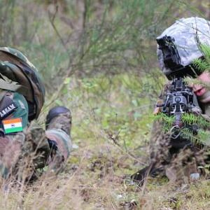 PHOTOS: The war games that US and India play