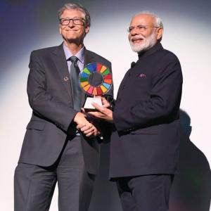 Modi wins Gates Foundation award for Swachh Bharat