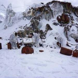Army removes 130 tonnes of solid waste from Siachen