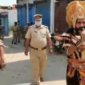 UP Police use 'Yamraj' in fight against COVID-19