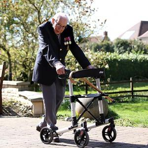 UK war veteran raises £13 mn with garden walk