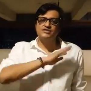 Arnab Goswami's car attacked in Mumbai; 2 held