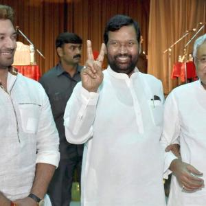LJP may withdraw support to Nitish govt in Bihar