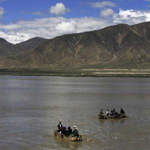 China's plan to 'WATER BOMB' India