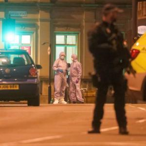London attack: Suspect with hoax bomb killed, 3 hurt