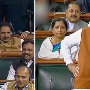 Modi's 'tubelight' jibe at Rahul Gandhi in Lok Sabha