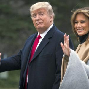 POTUS and I are excited: Melania on India visit