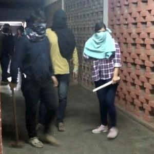 Masked men unleash violence on JNU; 28 injured