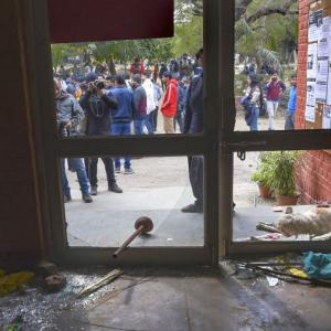 JNU attack: Responded to PCR calls, says police
