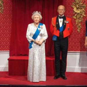 Tussauds separates Harry-Meghan from royal family