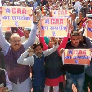 BJP MLA winning Muslims's trust on CAA, NRC